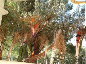 Tree creatures in situ