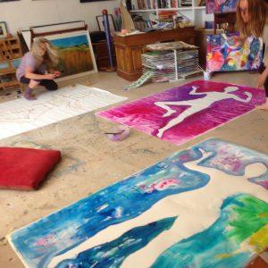 Art workshop to find our inner goddess