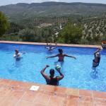 Have fun in the pool