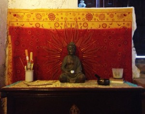 This is the meditation room