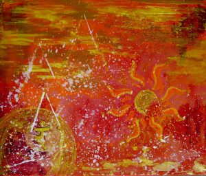 Chakra Art Workshop painting
