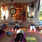 Early evening Yin yoga class