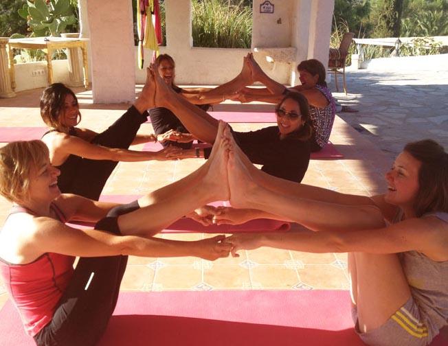 yoga in spain retreats