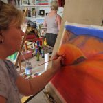 Landscape Painting Workshop - Back in the studio