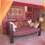 Moroccan chill out area
